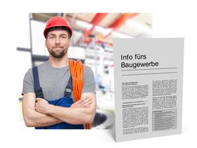 Mandanten-Information für das Bau- und Baunebengewerbe
