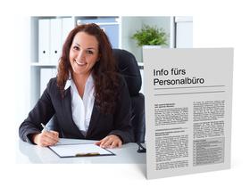 Mandanten-Information für das Personalbüro