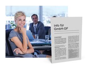 Mandanten-Information für den GmbH-Geschäftsführer
